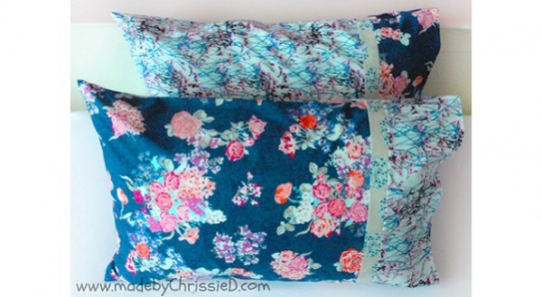 Tutorial Burrito Method Pillowcase With French Seams Sewing