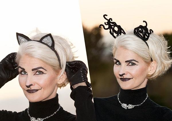 Tutorial: Fancy cat ears, 2 ways