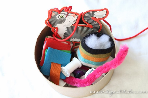Tutorial: Sewing room busy basket for a toddler