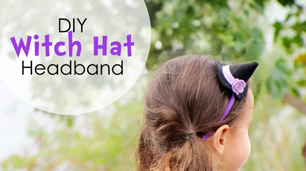 Tutorial: Witch hat headband