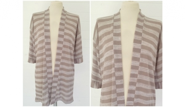 Tutorial: DIY Hacci Knit Kimono Cardi