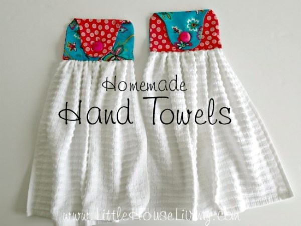 7 Ways to Sew a Stay Put Hand Towel ? Sewing