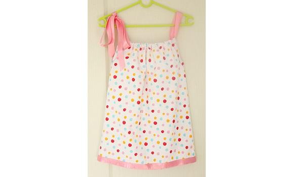 Tutorial: Pillowcase dress for beginning sewists