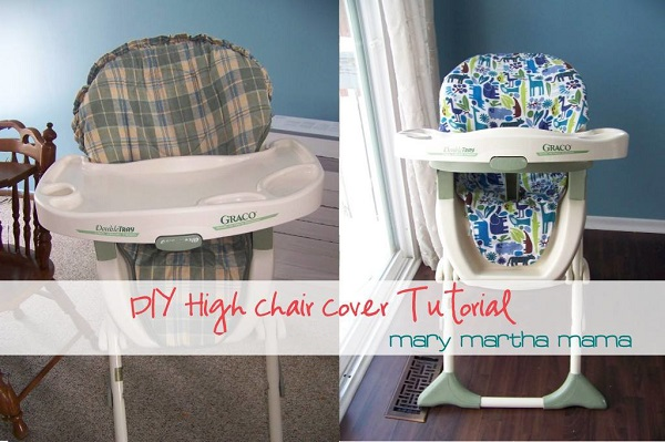 Tutorial How To Make A High Chair Seat Cover Sewing