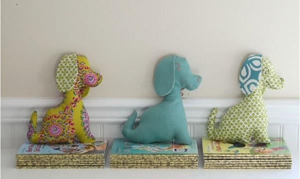 Free pattern: Puppy dog softie