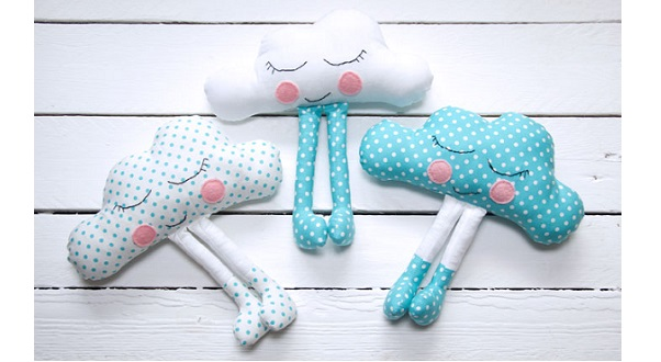 Free pattern: Happy cloud softie