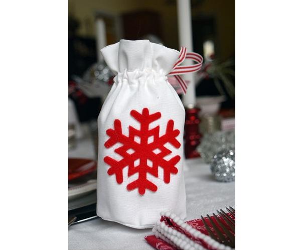 Tutorial: Christmas ornament gift bags