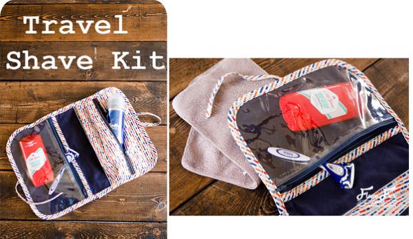 Tutorial: Travel shaving kit