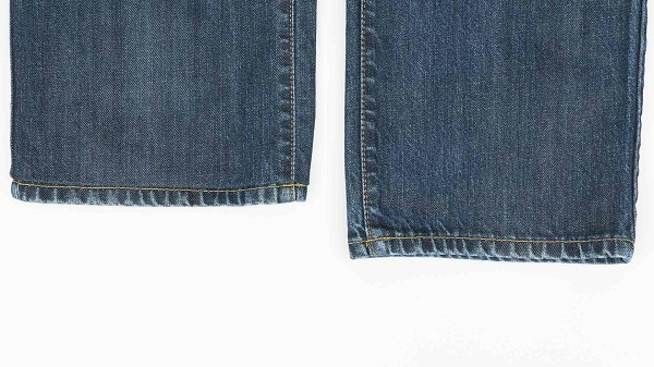 Tutorial: Hem your jeans and keep the original hem