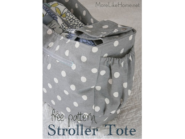 Tutorial: Stroller tote bag