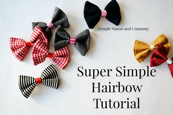 Tutorial: Simple layered hairbows