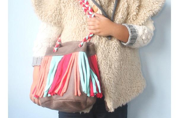 Tutorial: Szoke inspired fringe bag