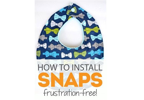 Tutorial: How to set plastic snaps