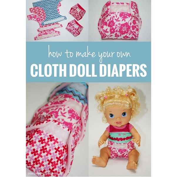Tutorial: Baby doll diapers