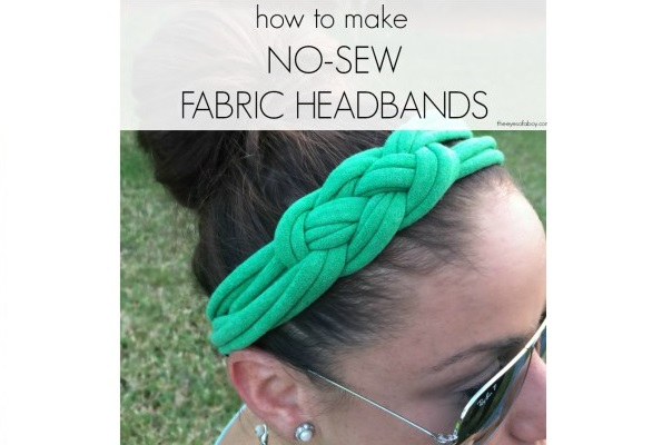 Tutorial: No-sew Celtic knot headband from a recycled t-shirt
