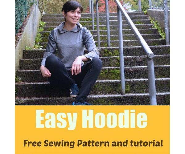 Free pattern: Easy hoodie