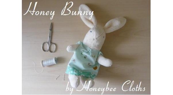Free pattern: Honey Bunny rabbit doll
