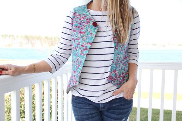 Tutorial: Easy DIY women's vest