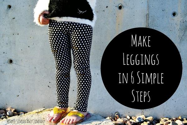 Tutorial: Make leggings in 6 easy steps