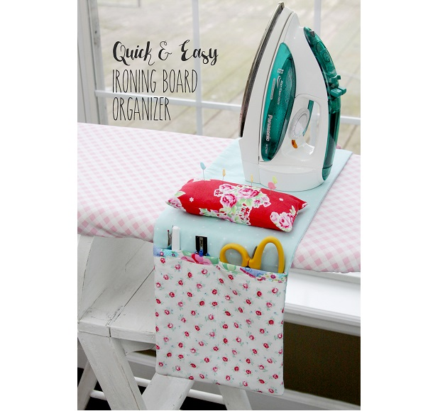 Tutorial: Ironing board organizer