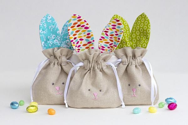 Tutorial: Drawstring Bunny Bags