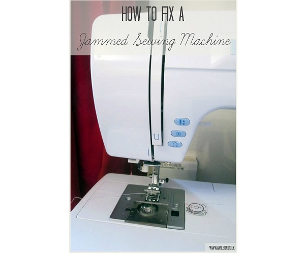 Tutorial: Help for a jammed sewing machine
