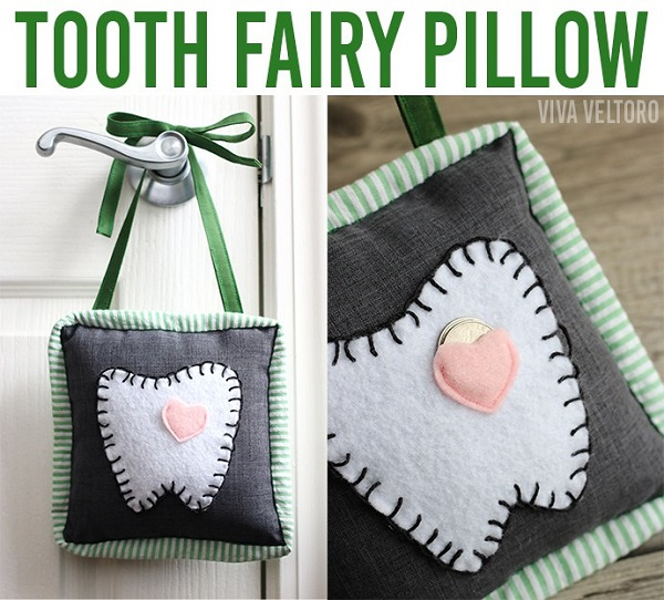 Tutorial: Boxy tooth fairy pillow