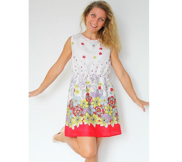 Tutorial: Easy summer A-line dress
