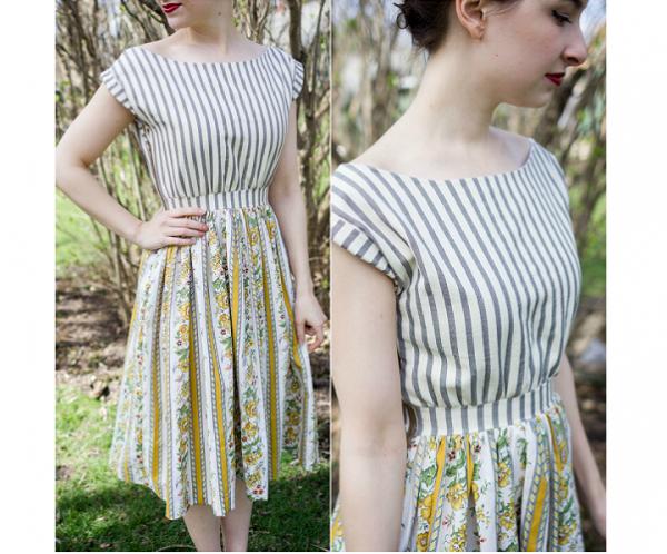 Tutorial: Vintage-inspired sun dress