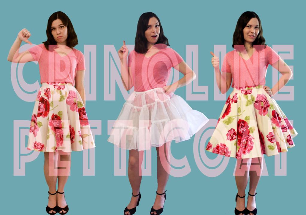 Tutorial: How to make a crinoline petticoat
