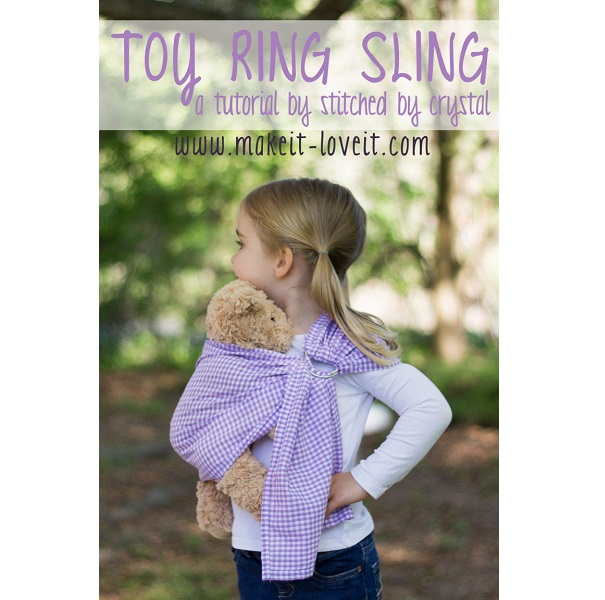 Tutorial: Ring sling doll carrier