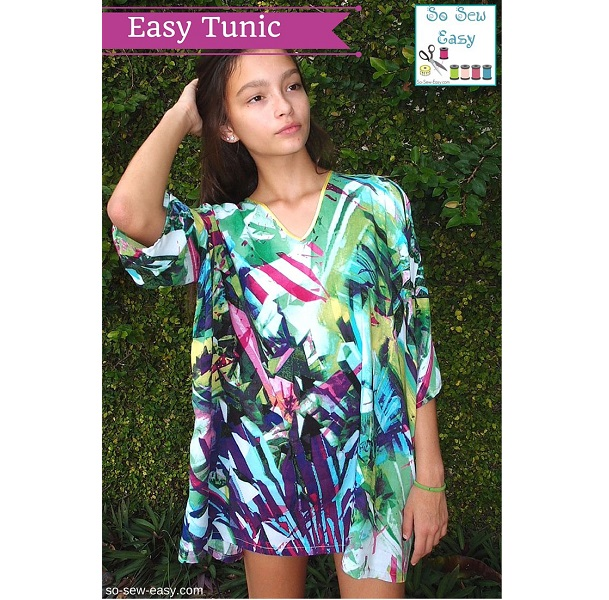 Free pattern: Easy summer tunic – Sewing