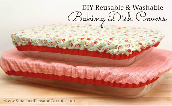 Tutorial: Reusable fabric baking dish cover
