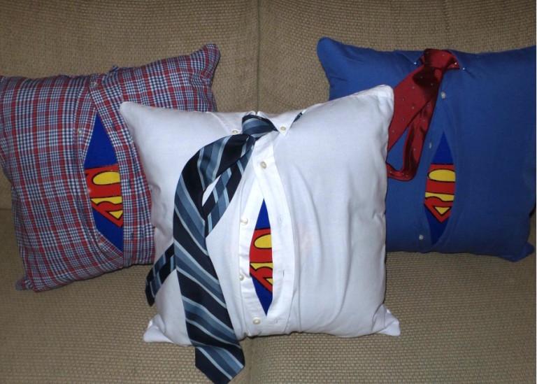 Jennifer-Davey-Superman-Pillow