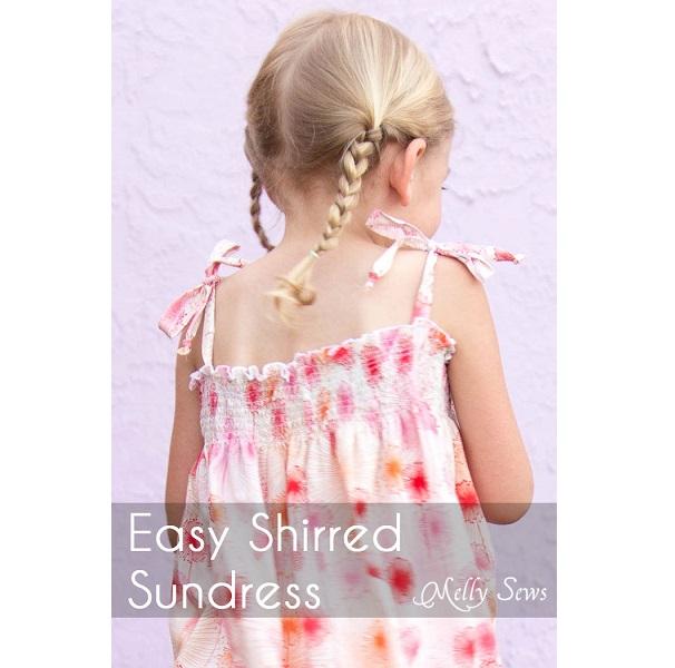 Tutorial: Easy shirred sundress
