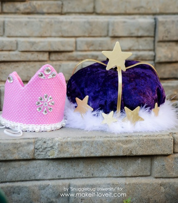 Tutorial: Mini birthday crowns in two styles