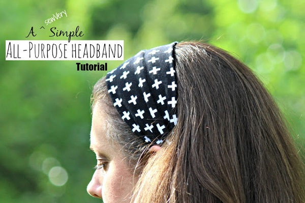 Tutorial: Simple all-purpose fabric headband