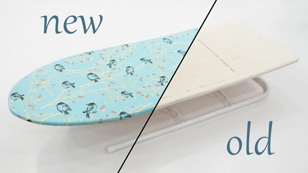 Tutorial: Sew a new cover for your ironing board