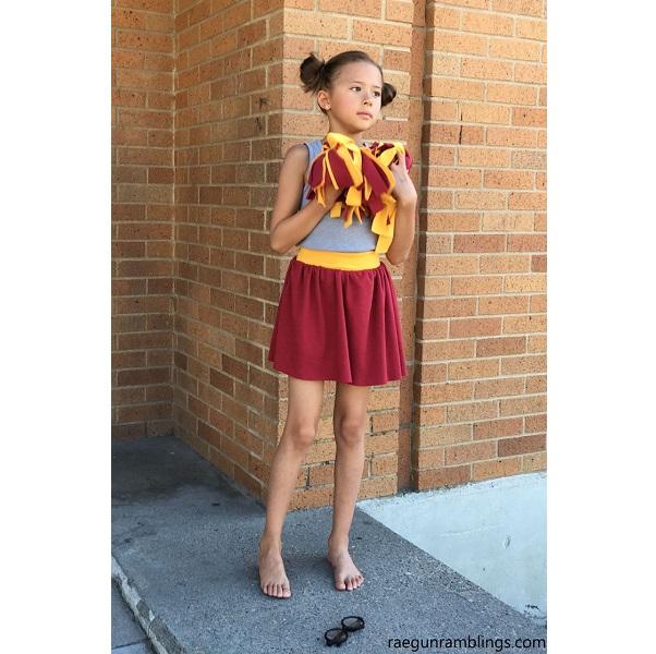 Tutorial: 30-minute easy knit skirt