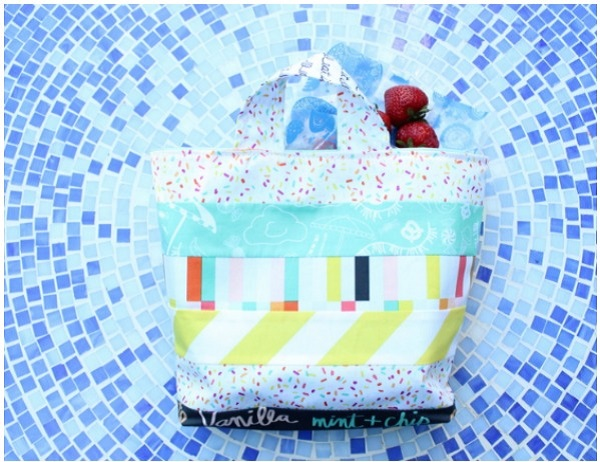 Tutorial: Back to school lunch tote