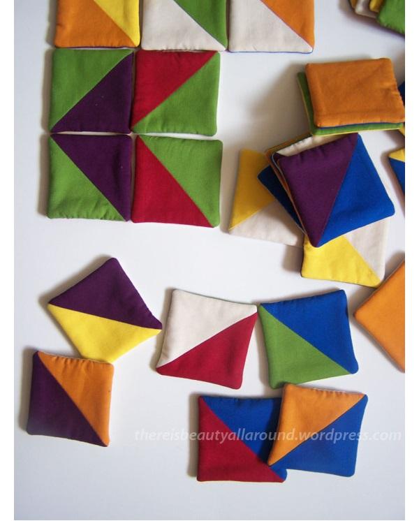 Tutorial: Fabric tangram game