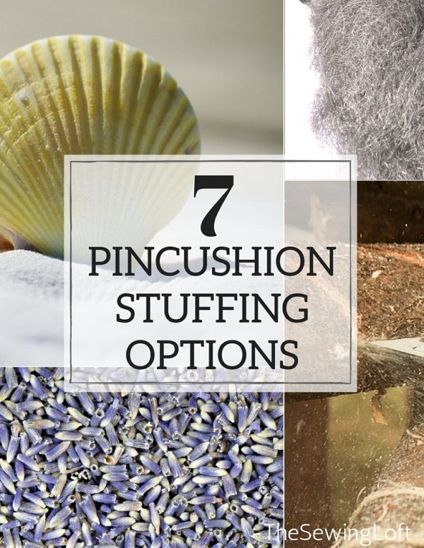 7 options for stuffing a pincushion
