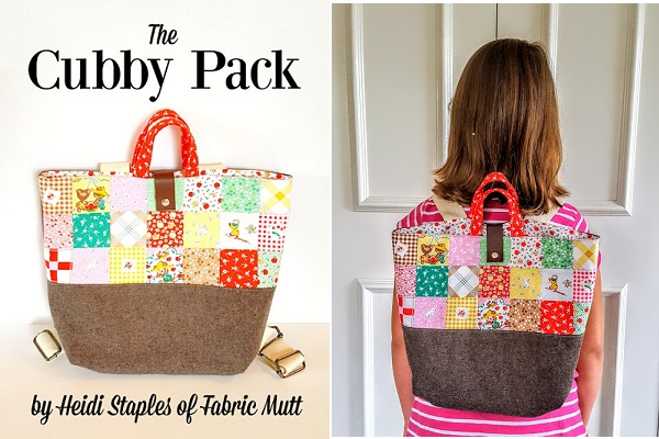 Tutorial: Cubby Pack patchwork backpack
