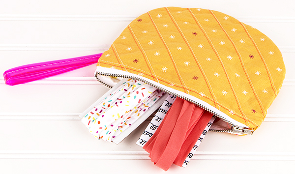 Video tutorial: Single Scoop zipper pouch