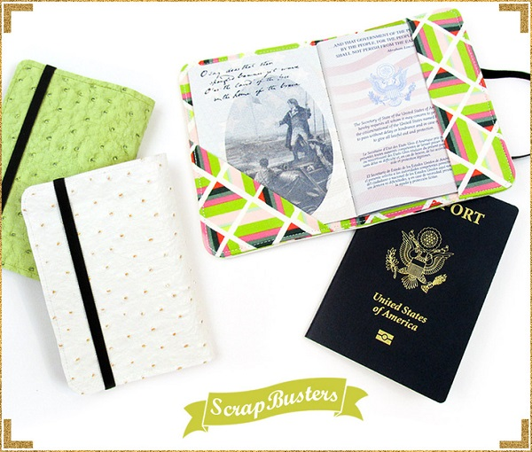 Tutorial: Faux leather passport cover