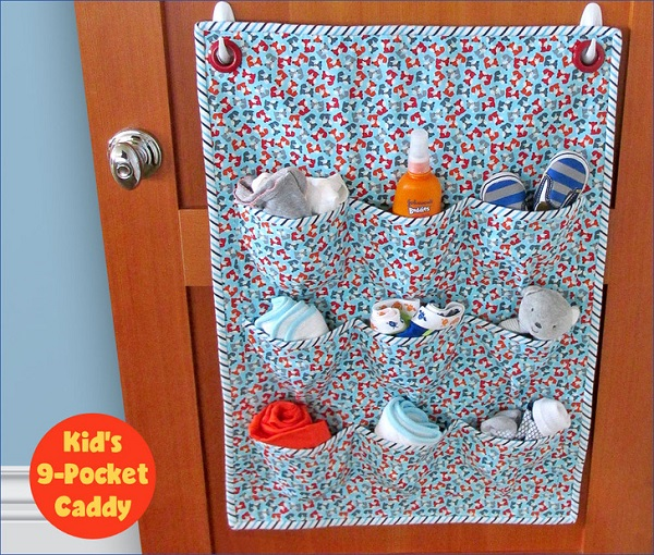 Tutorial: Nine pocket door caddy organizer