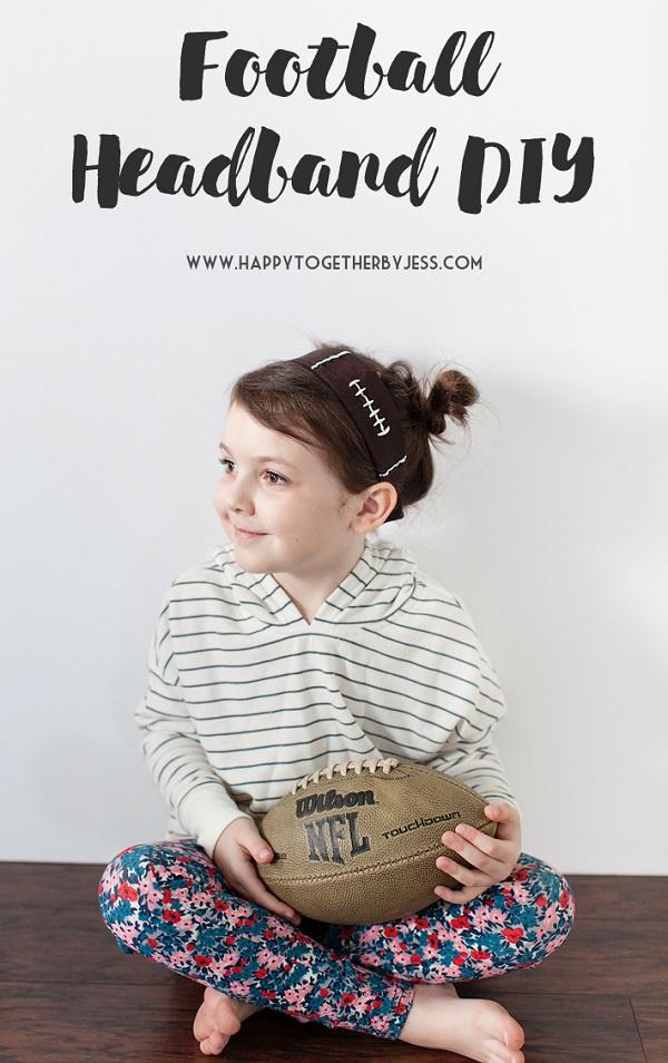 Free pattern: Football headband