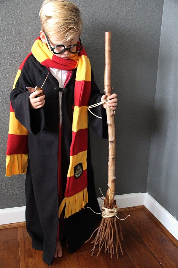 Tutorial: How to make a Harry Potter robe