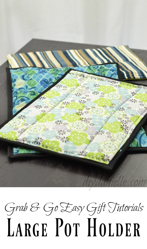 Video tutorial: Oversized hot pads for casserole dishes