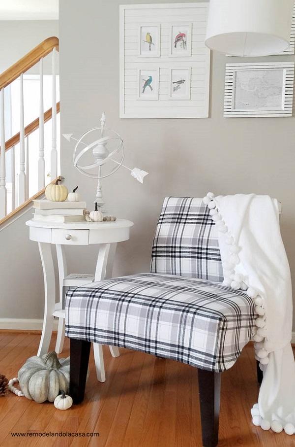 Tutorial: Slipcover for a slipper chair